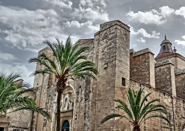 budova na Menorce