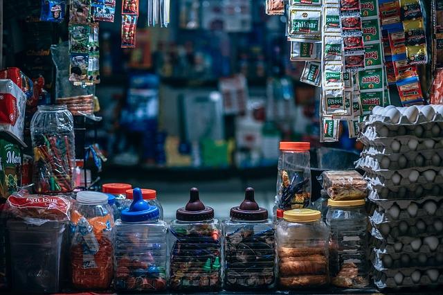 prodej sladkostí