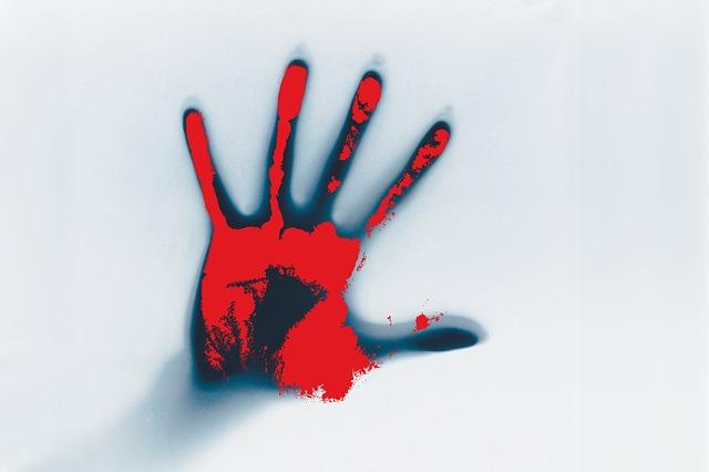 krvavá dlaň