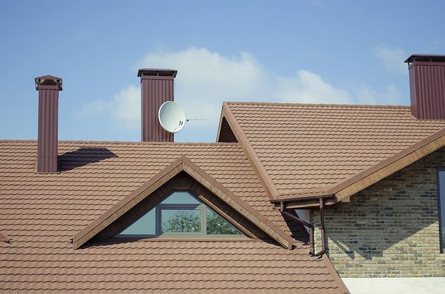 satelit na střeše
